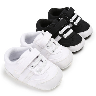Babyshoes spring and autumn models 0-1 year old canvas baby sneakers soft sole baby toddler shoes Support
