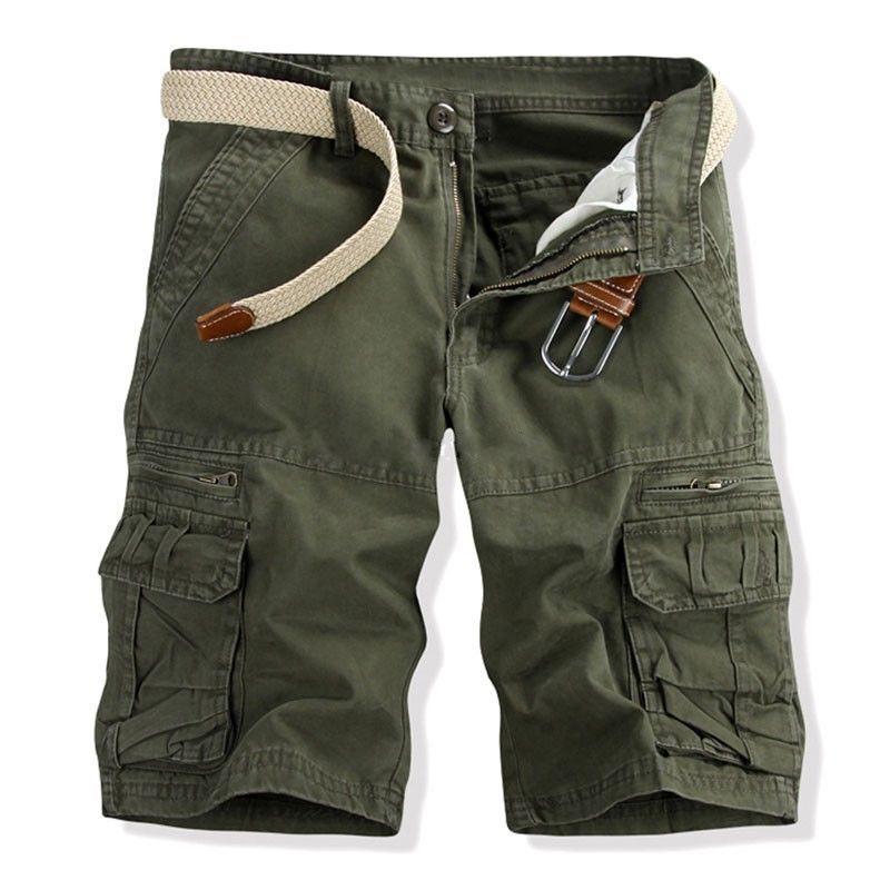 Summer 2018 men's Capris men's casual loose oversized overalls 5pm pants