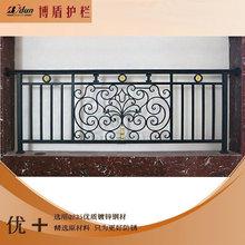 YT-33鐵藝陽臺護欄 鋅鋼護欄扶手 廠家直銷焊接室外欄桿