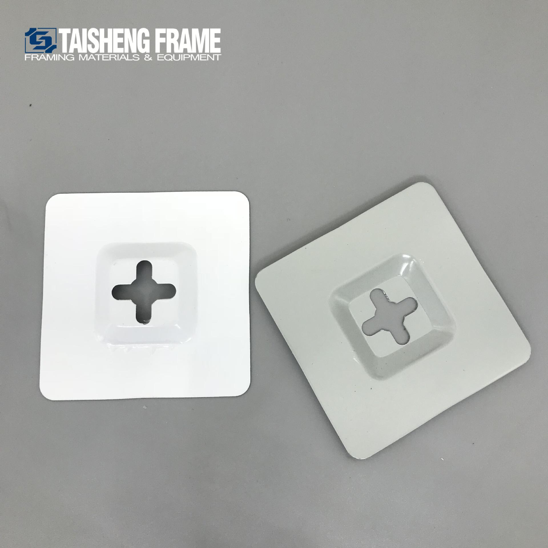 泰圣相框配件 TS-K264 五金相框配件泰圣方形玻璃刮67x67mm
