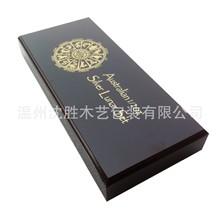 供应高档高亮光的纪念章 奖章木盒