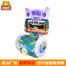 厂家直销大型电玩设备疯狂鳄鱼投币游戏机儿童乐园娱乐街机