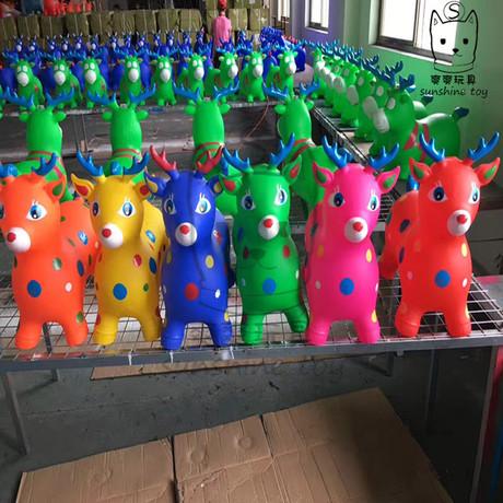 Nhà máy trực tiếp sơn PVC thêm lớn trẻ em đồ chơi bơm hơi gắn kết bán buôn dày nhảy nhạc Vault Nhảy Vault / Nhảy bóng