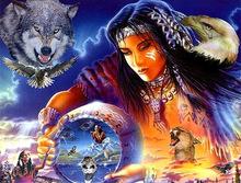 美女与野兽 钻石画