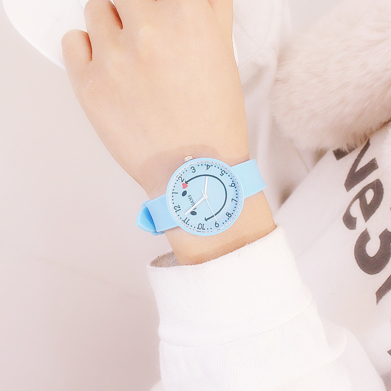 Alloy FashionStudent watch(white) NHCN0108-white