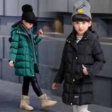 女童棉衣2018新款韩版中大童儿童童装小学生儿童加厚外套一件代发