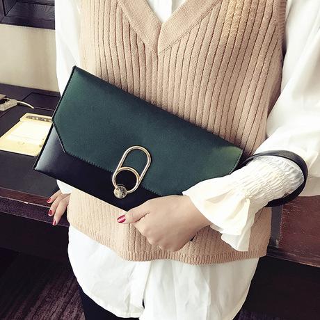 Túi xách 2018 xuân hè mới vai mờ túi Messenger Hàn Quốc cá tính thời trang hoang dã khí chất ly hợp túi xách nữ