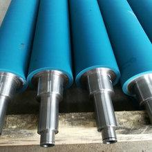 厂家直销聚氨酯包胶轴 聚氨酯包胶辊 聚氨酯托辊 量大优先