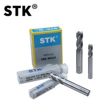 日本原裝STK白鋼銑刀 平底鑼刀 含鈷高鈷不銹鋼立銑刀M42白鋼刀
