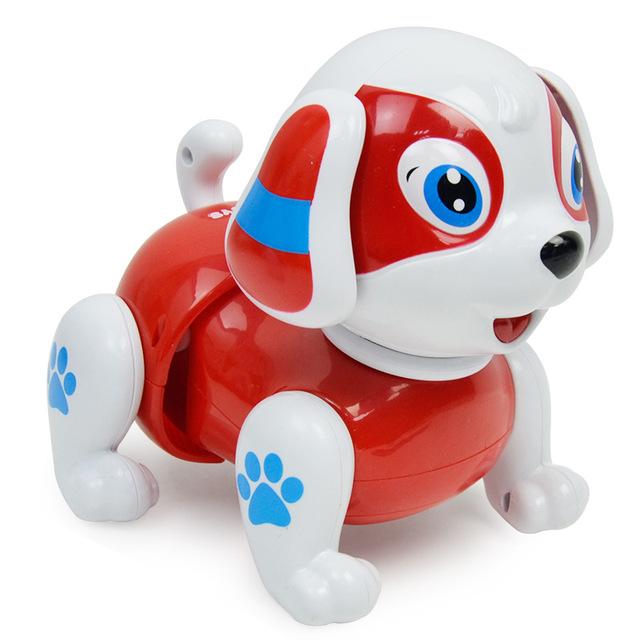 Đồ chơi chó xoắn thông minh, câu chuyện nhạc bò nhẹ, chó mô phỏng chai điện Thú cưng điện tử