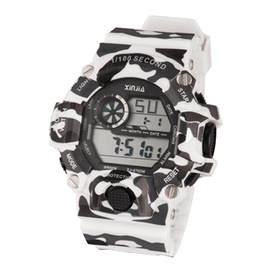 New teen watch sports watch outdoor waterproof student electronic watch camouflage luminous table