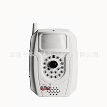 GSM彩信防盗报警系统家用商铺门窗防偷120分贝报警器红外探测一体