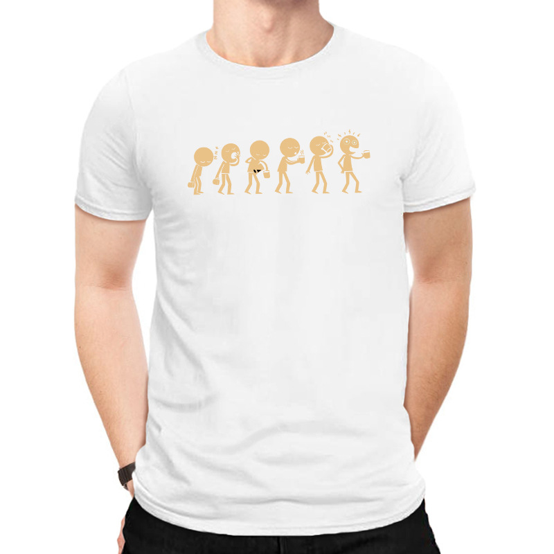 Creative funny character expression pure cotton short-sleeved large size men's T-shirt nihaojewelry NHSN238974
