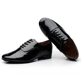 男式摩登舞蹈鞋真皮软底男子舞鞋成人拉丁舞鞋男国标广场交谊跳舞