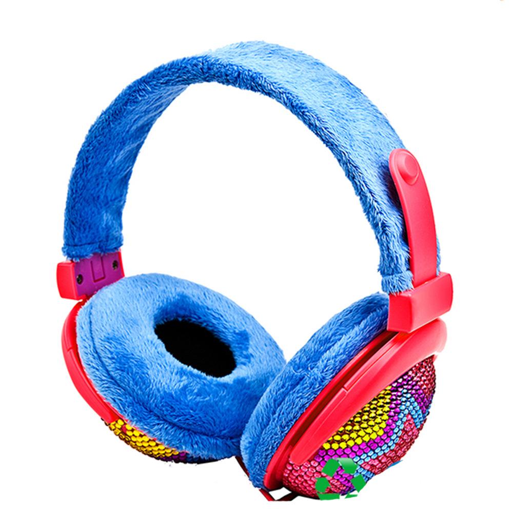 实力工厂绒毛时尚头戴式冬天护耳保暖舒适型耳机H0285