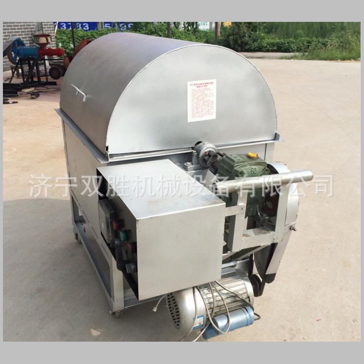 炒干货专用电动滚筒式炒货机 商用燃煤花生瓜子翻炒机 糖炒栗子机
