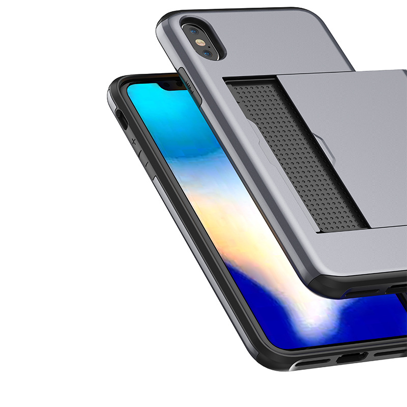 手机壳 iphoneXplus手机壳 插卡手机壳