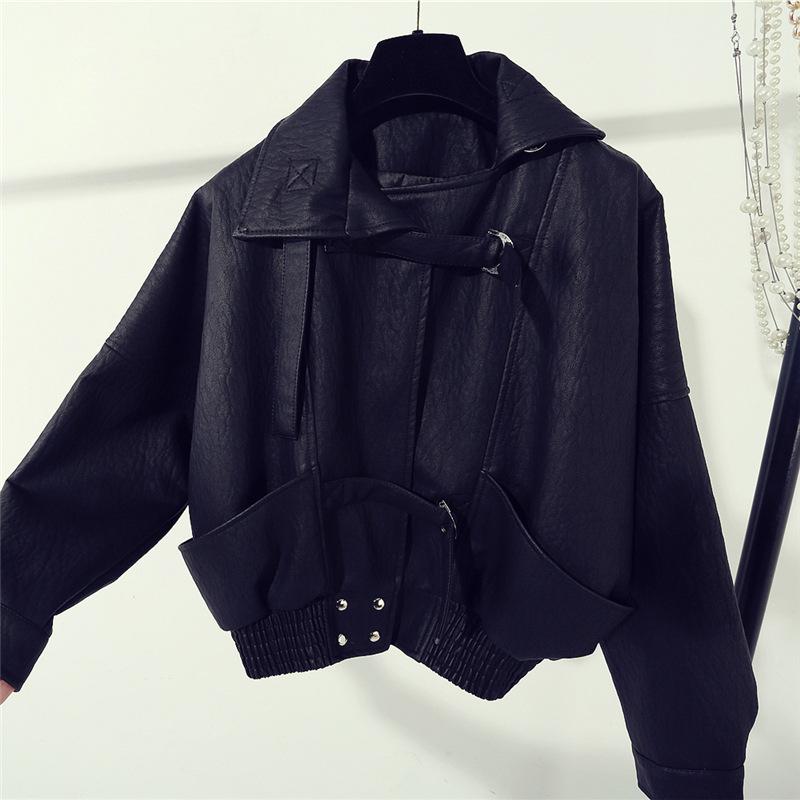 Veste cuir femme en PU - Ref 3332835 Image 1