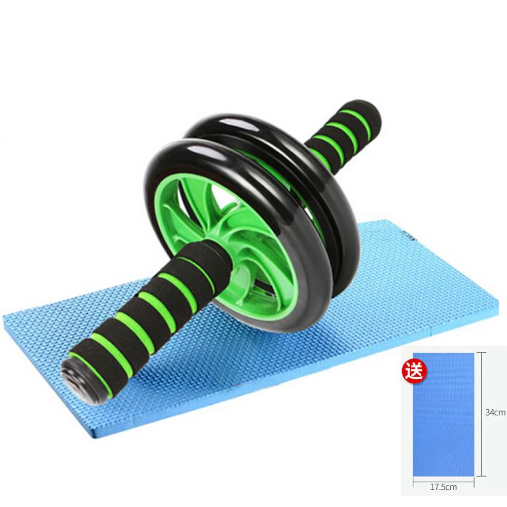 速凡厂家直批双轮健腹轮健身器材巨轮健腹器滚轮锻炼腹肌轮送跪垫
