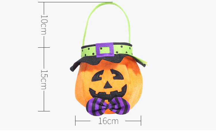 New Halloween hooded round cloth gift bag tote NHHB150197