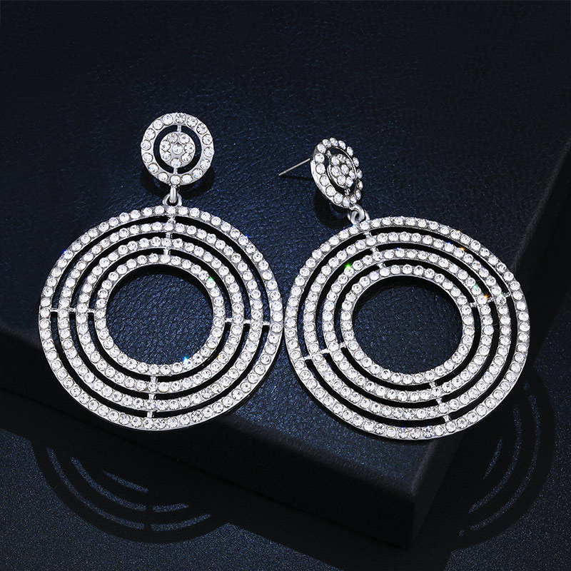 Alloy Fashion Geometric earring  black  Fashion Jewelry NHAS0225black