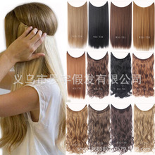 Europe and the United States new fish line chemical fiber high temperature wire hair piece