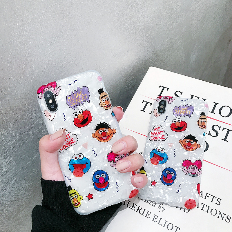 Cartoon animal shell pattern iPhone Phone Case NHDV139303 For iphone