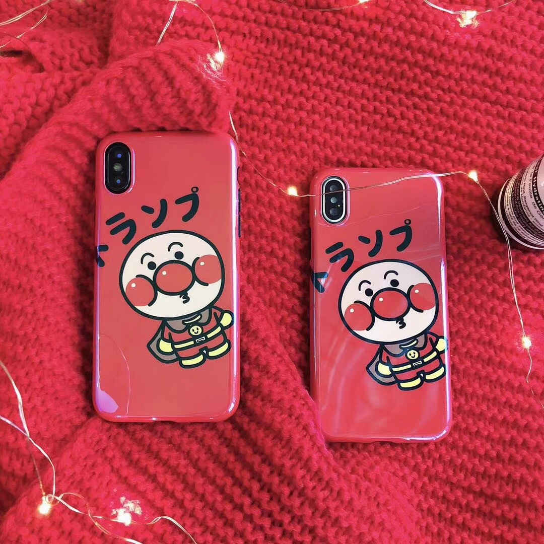 Blu-ray bread Superman mobile phone shell iPhone6s/8/7plus all-inclusive couple soft silicone men and women Han