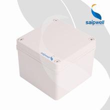 批發戶外防水盒ABS電氣接線盒 125*125*100電纜進線盒 電工接線