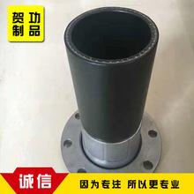 pe钢丝网骨架管 厂家直销 钢丝缠绕pe给水管110 MPa