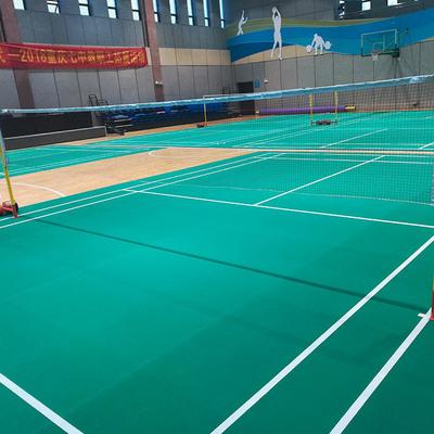 室内PVC运动地板乐体宝石纹经典纹理羽毛球场专用塑胶地板
