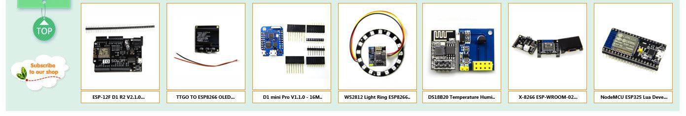 Details about WS2812 Light Ring ESP8266 ESP01 ESP01S RGB LED Smart Wifi Kit  for Arduino