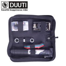 DUUTI Diou Road Xe đạp Công cụ kết hợp Bộ sửa chữa Bộ dụng cụ lốp Inflator Crowbar Bộ sửa chữa Bơm
