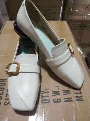 来样定做 来图设计 打样开发各类时尚女装真皮鞋时装方跟方头单鞋