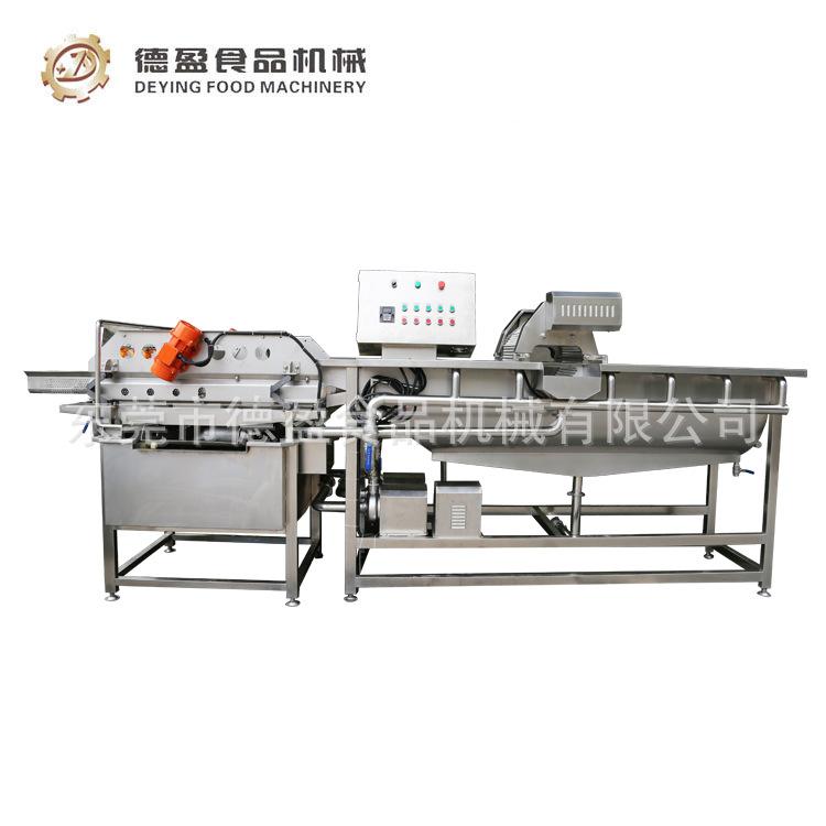 洗菜机_大型涡流洗菜机_清洗蔬菜食堂设备洗菜机-德盈食品机械