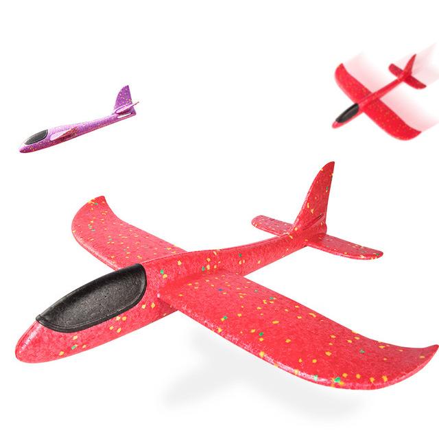 Tay ném máy bay đóng thế xung quanh mô hình đèn lồng lớn 48cm bay lượn tàu lượn chống lại máy bay bọt mô hình rơi Mô hình hàng không