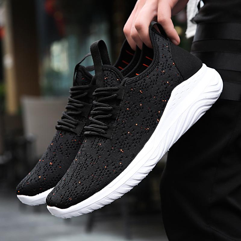 2020秋季新款飞织跨境运动鞋男鞋子韩版休闲鞋潮流一件代发跑步鞋