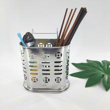 廠家直銷 不銹鋼筷籠筷子筒廚房餐具置物架無磁筷子架筷筒收納盒