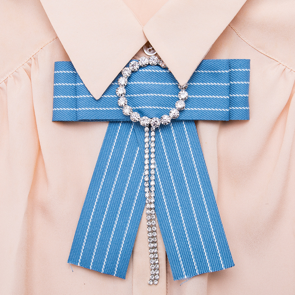 Alloy Fashion Bows brooch NHJE0986-red