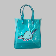 廠家批發透明禮品包裝pvc手提袋新雅美塑料pvc購物手提袋子可定制