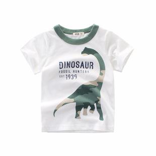Корейский ребятишки новый 2021 лето мальчиков короткий рукав T футболки оптовая торговля мода прилив карты ребенок одежда поколение штифт