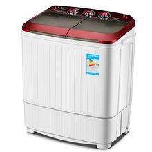 5KG公斤双桶双杠半自动迷你小型家用洗衣机脱水甩干不锈钢桶代发
