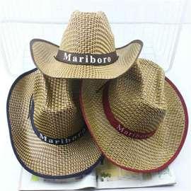 Fishing bike men's cowboy hat holiday summer beach big hat female sun sun hat male sun hat