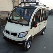 厂家直销 批发定制 全封闭电动四轮代步车 家用油电混合成人轿车