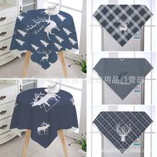 遇見 家用裝飾布外貿床頭柜罩 麋鹿床頭柜防塵布藝罩  淘寶熱銷