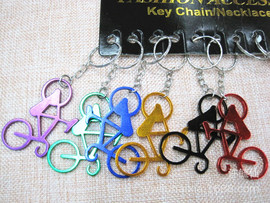 Mini bicycle opener key ring pendant gift opener bicycle key ring bicycle factory