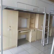 公寓床宿舍床组合床金属床柜组合上下床工人床学生床职工床高低床