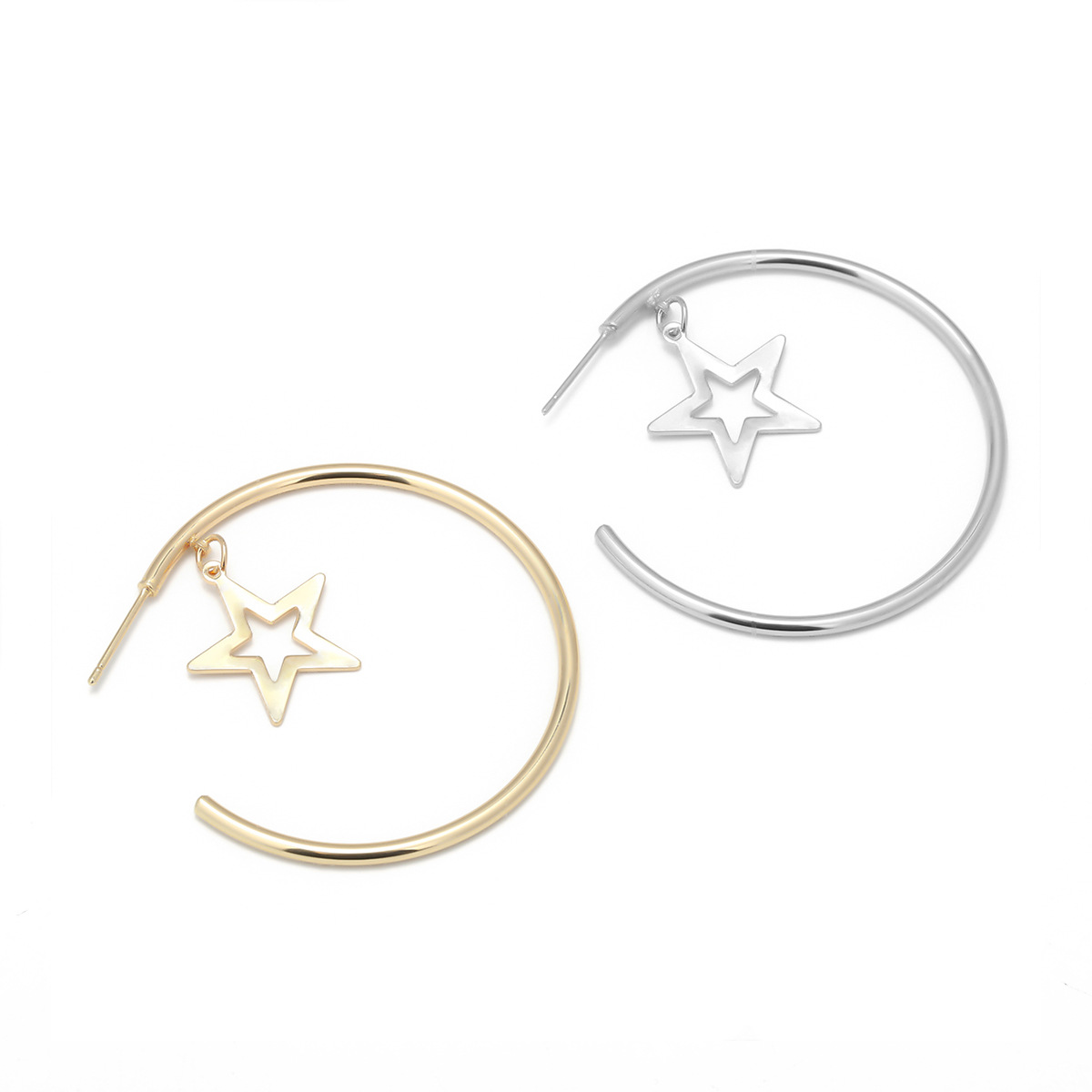 Alloy Simple Geometric earring(Gold 1025) NHXR2246-Gold 1025