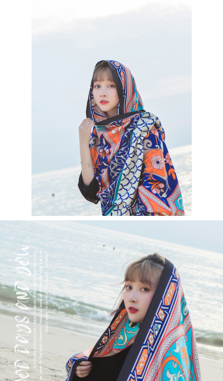 Cloth FashionBeach towel(Main picture) NHCM1384-Main picture