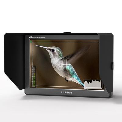 利利普 A8S 8.9寸4K摄影3D-LUT监视器HDMI 3G-SDI导监显示器